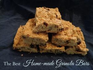 granola bars pic